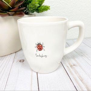 Rae Dunn Ladybug Coffee Tea Cup Bug Mug